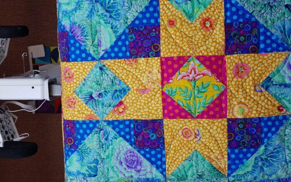 Detail quilt Lida van Agthoven 2